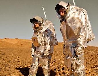 Aouda.X und Aouda.S beim MARS2013 Feldtest in der Nordsahara
