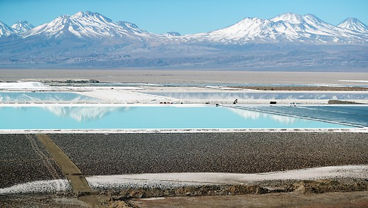 Lithium-Mine in Chile