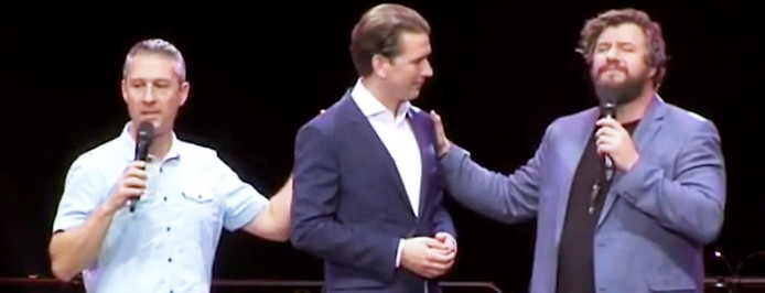 """Sebastian Kurz bei """"Awakening Austria"""""""