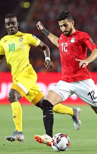 Ayman Ashraf gegen Marvelous Nakamba