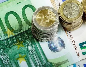 Euroschein- und- Münzen