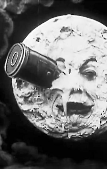 "Szene aus ""Reise zum Mond"""