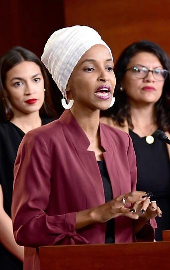 PK der US-Demokratinnen Ocasio-Cortez, Omar und Tlaib