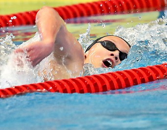 Schwimmerin Marlene Kahler