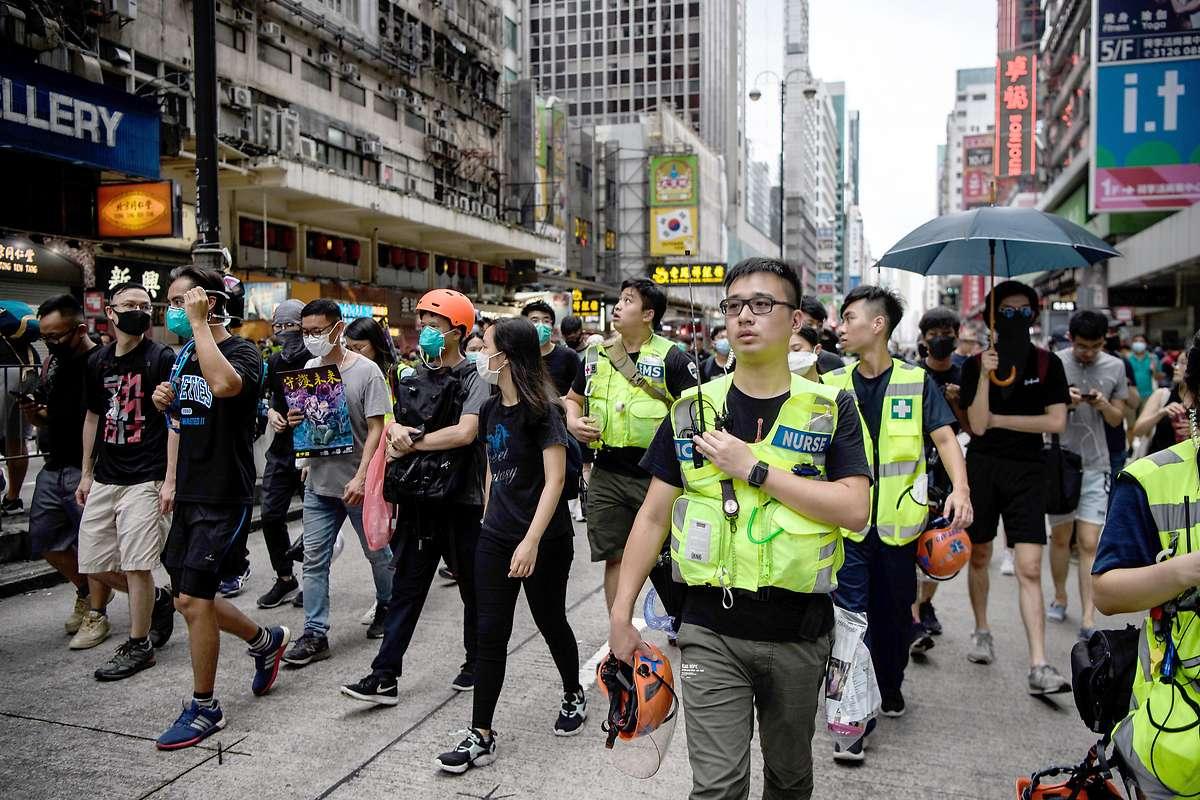 Hongkong-Demos: London für unabhängige Untersuchung
