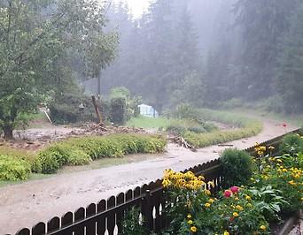 Schirnitzgraben Hochwasser