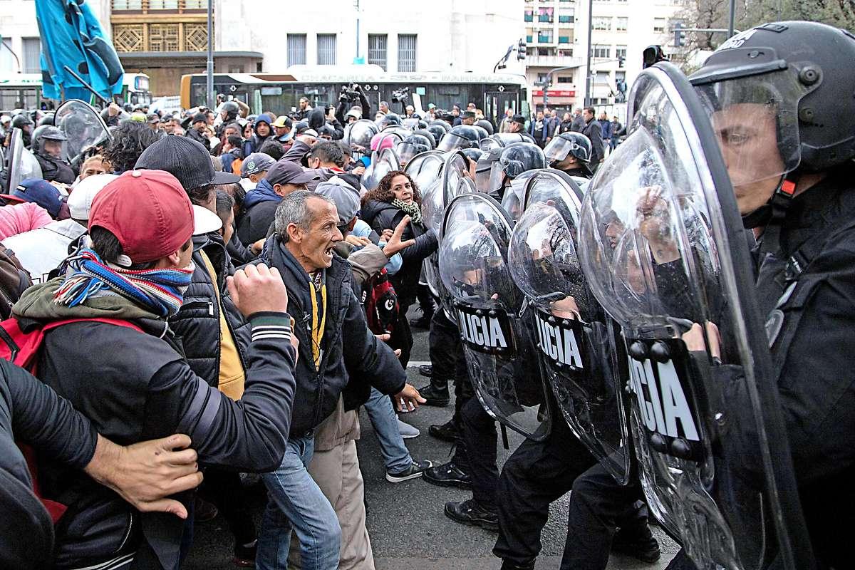 Proteste gegen Nahrungsmittelkrise in Argentinien