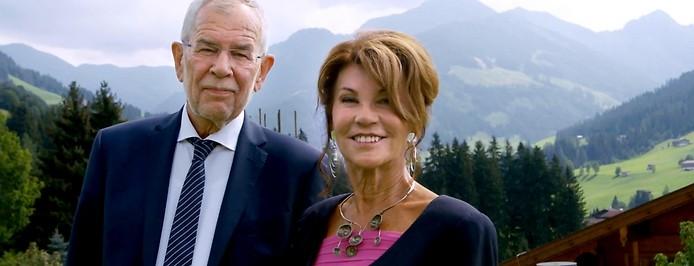 Bundespräsident Alexander van der Bellen und Bundeskanzlerin Brigitte Bierlein