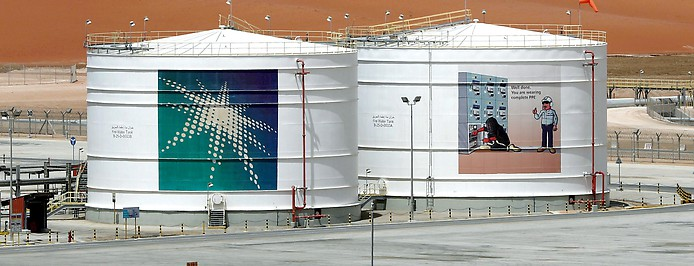 Aramco-Öllager
