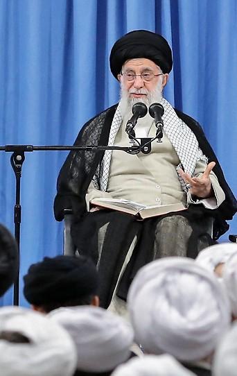 Das Oberhaupt des Iran, Ajatollah Ali Chamenei