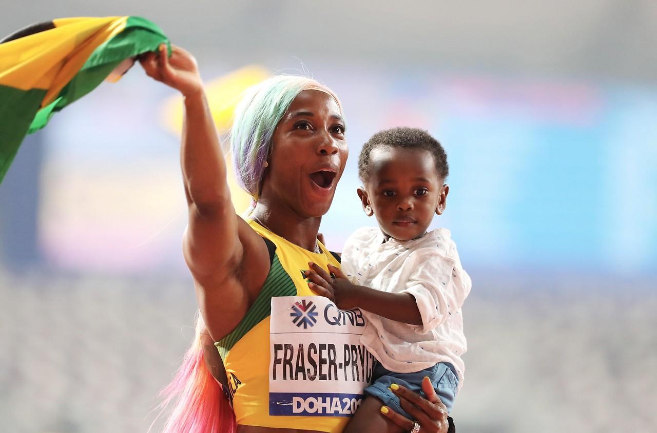 Outlet-Boutique am besten einkaufen diversifiziert in der Verpackung Leichtathletik-WM: Fraser-Pryce sprintet zu viertem 100-m ...