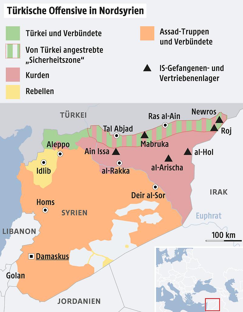 Syrien Turkei Startet Militaroffensive News Orf At