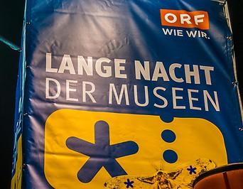 ORF Lange Nacht der Museen Plakat