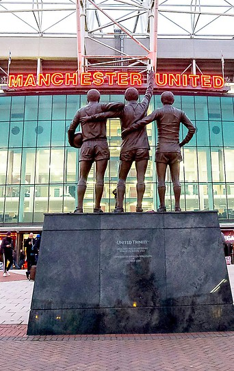 Old Trafford Stadium in Manchester