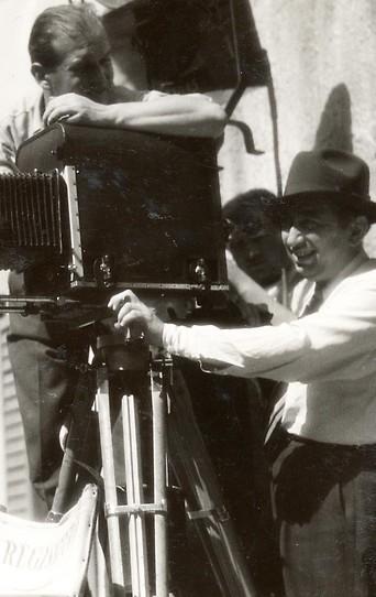 Dreharbeiten zu einem Film