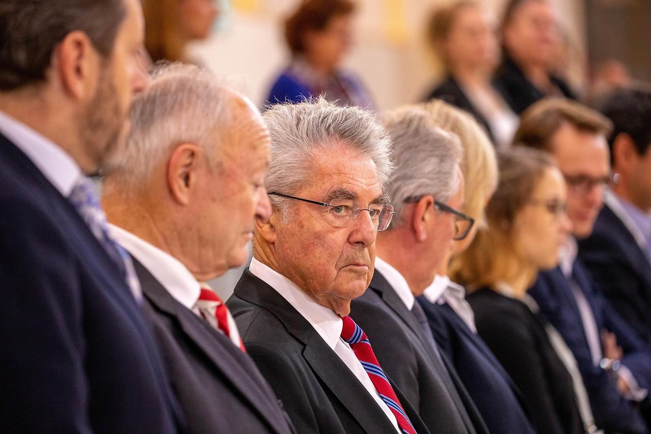 Altbundespräsident Heinz Fischer