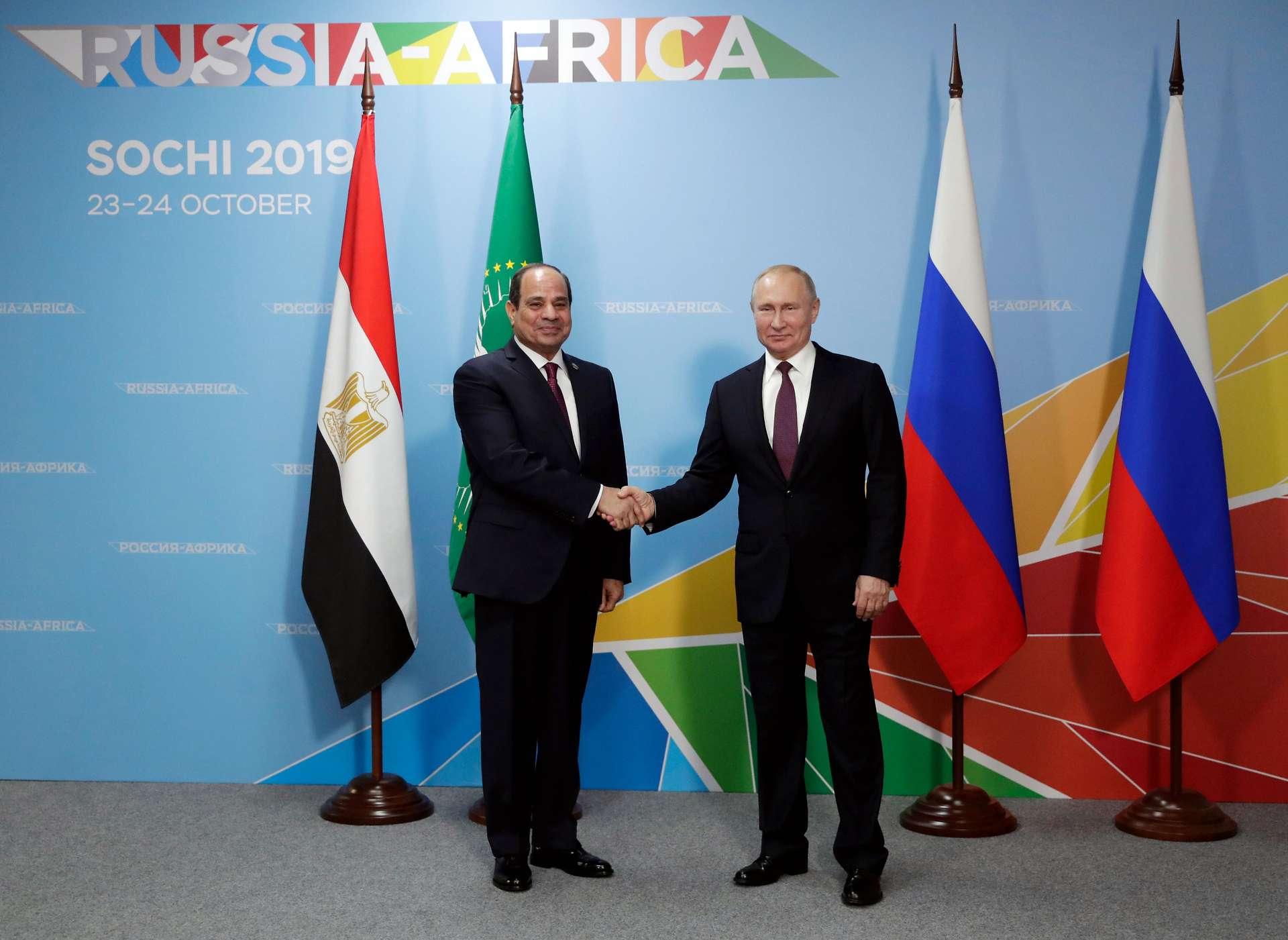 Nach Nahost: Afrika als Putins nächstes Ziel