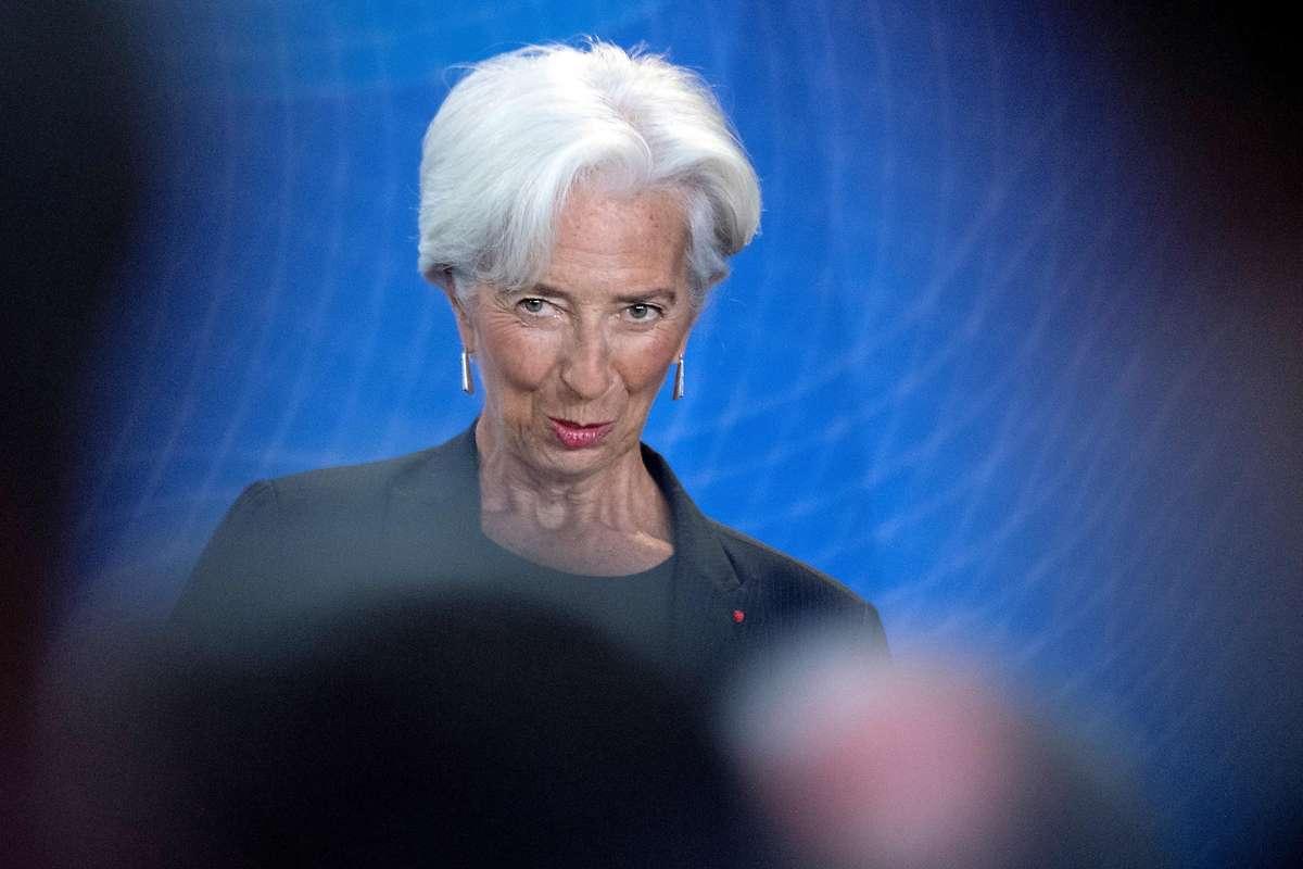 Lagarde ist erste Frau an EZB-Spitze