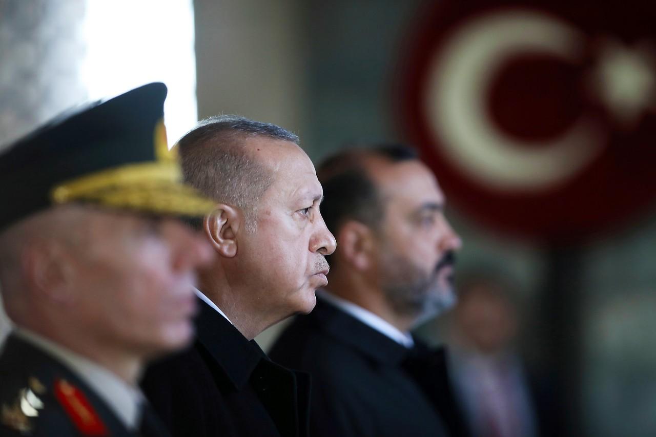 Türkischer Präsident Recep Tayyip Erdogan