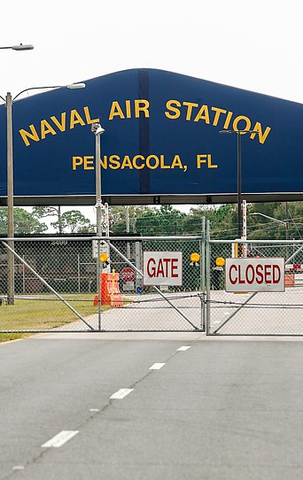 Die Naval Air Station Pensacola in Florida