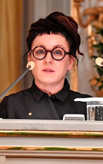Polnische Schriftstellerin Olga Tokarczuk