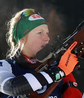 Lisa Hauser in Obertillach (Österreich)