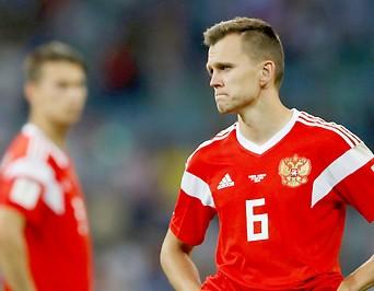 Denis Tscherischew nach dem Aus Russlands im Viertelfinale der Fußball-WM