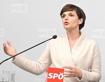 Parteichefin Pamela Rendi-Wagner (SPÖ)