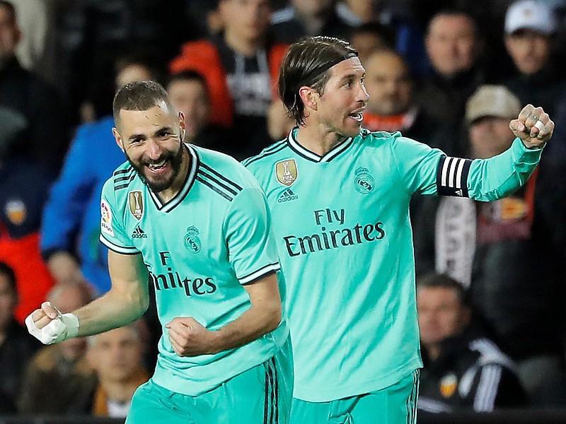 Benzema rettet Real-Unentschieden in Valencia