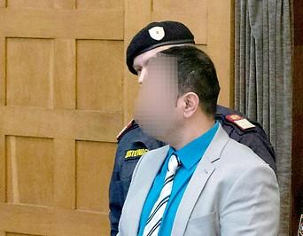 Angeklagte am Landesgericht in Feldkirch