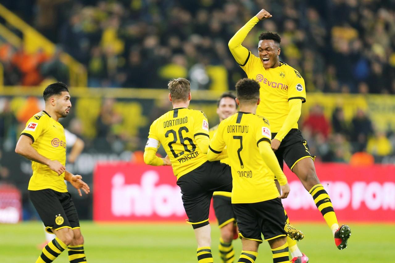 Fussball Dortmund Frankfurt