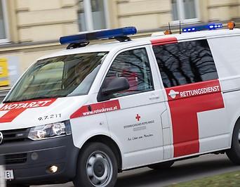 Notarztfahrzeug in Vorarlberg