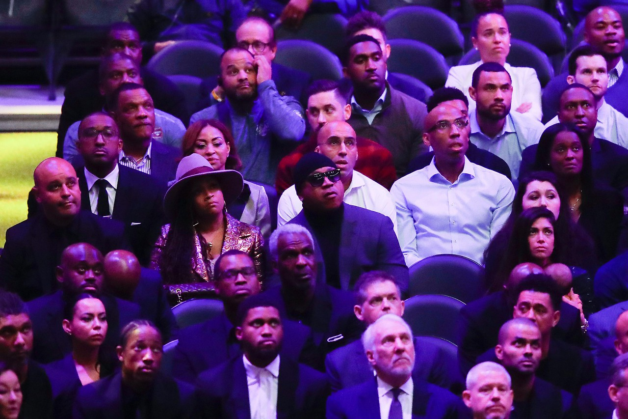 Trauerfeier Kobe Bryant