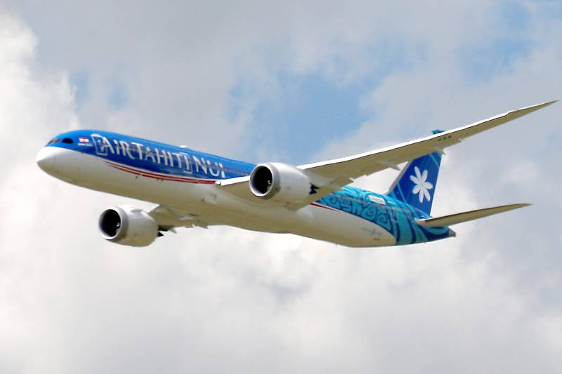 Boeing 787-9 von Air Tahiti Nui 2020 © 2020 Air Tahiti Nui