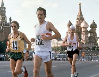 Marathonläufer bei den olympischen Sommerspielen 1980 in Moskau