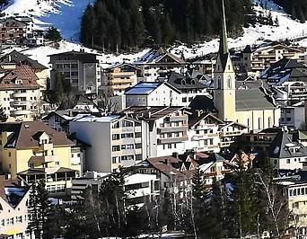 Ortsansicht von Ischgl