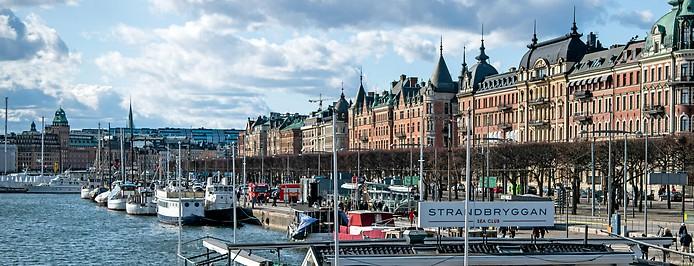 Ortsansicht von Stockholm