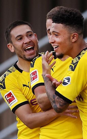 Jubel bei Dortmund