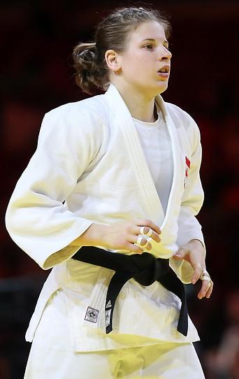 Die österreichische Judoka Bernadette Graf.