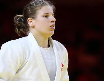 Die österreichische Judoka Bernadette Graf