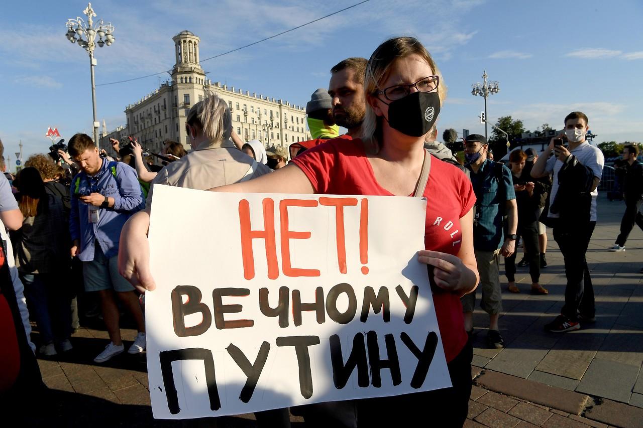 Deutliche Zustimmung: Referendum zementiert Putins Macht