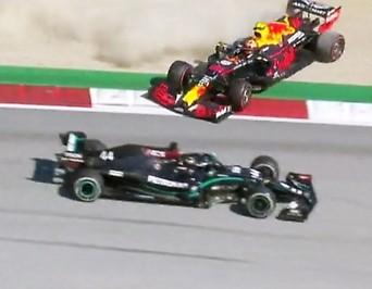 Kollision zwischen Lewis Hamilton und Alexander Albon