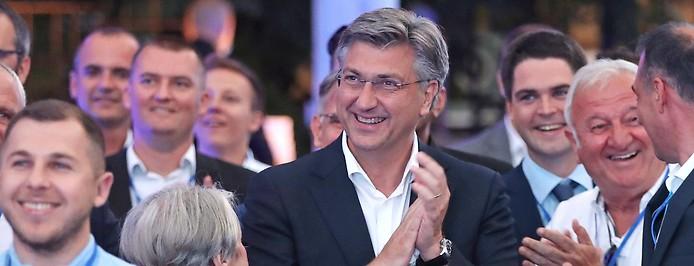 Ministerpräsident Andrej Plenkovic