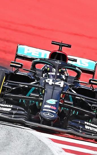 Mercedes-Fahrer Lewis Hamilton während des zweiten Spielberg-Grand-Prixs