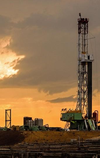 Fracking-Bohrturm