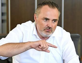 Der burgenländische Landeshauptmann Hans Peter Doskozil (SPÖ)