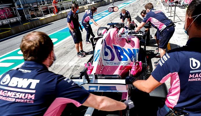 Crew von Racing Point