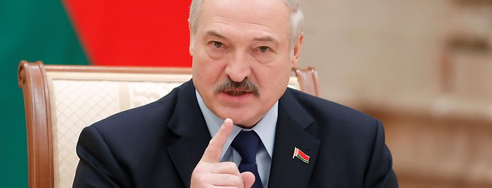 Der Präsident von Weißrussland Alexander Lukaschenko