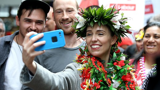 Új-Zéland miniszterelnöke, Jacinda Ardern