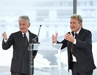 Das Linzer Architektenbrüderpaar Laurids und Manfred Ortner